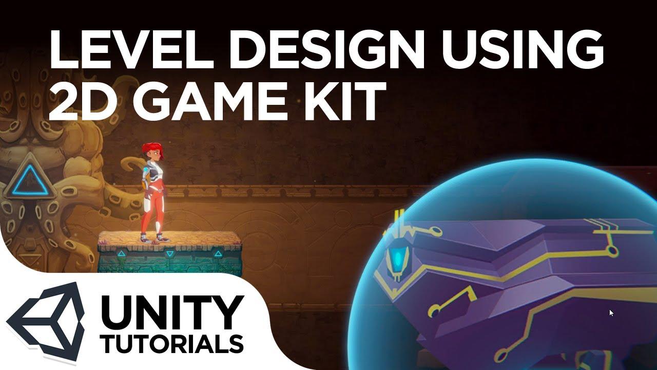 Learn basic level design using Unity's 2D Game Kit Design