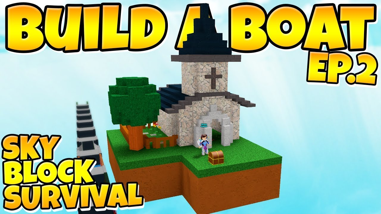 Build A Boat Skyblock Expanding The Island Youtube