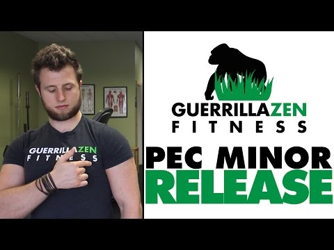 How To Stretch and Release The Pec Minor   Posture Improvement