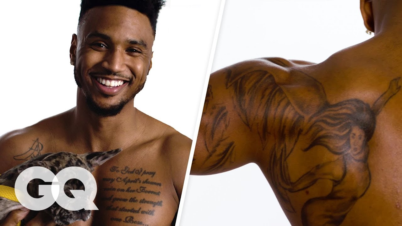 What Is Trey Songz Tattoo On His Chest: Trey Songz Breaks Down His Tattoos