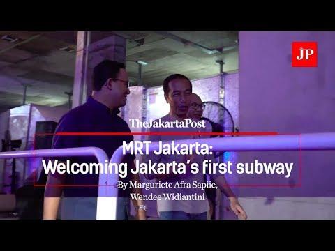 MRT Jakarta: Welcoming Jakarta's first subway