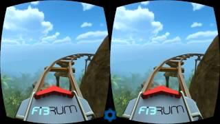 Відео для віртуальних очок катання на атракціонах 3D Gameplay Virtual Reality video