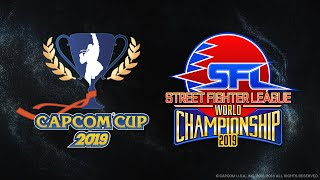 【日本語中継】Capcom Cup 2019 TOP32-16 - SFL: PRO WORLD CHAMPIONSHIP 2019