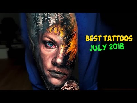 Best Tattoos of July 2018