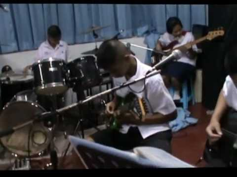 เปิดวง  วงดนตรีสากล โรงเรียนสะแกงาม