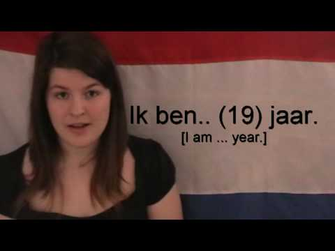 Learn Dutch - Introducing yourself.