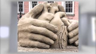 Sand Sculpture Exhibition At Dublin Castle 2013