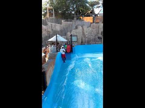 Dubai wild wadi experience