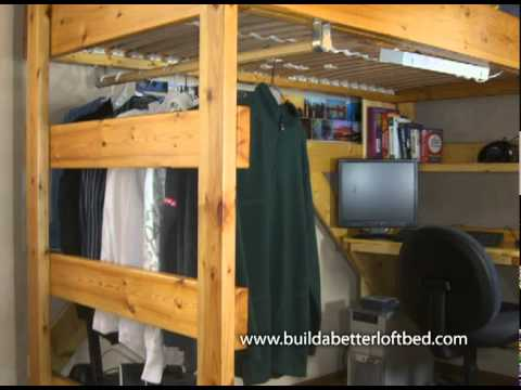 way more than a bed on stilts youtube. Black Bedroom Furniture Sets. Home Design Ideas