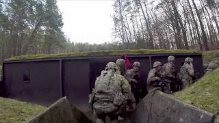 Trench Warfare - U.S. Army Trench Clearing