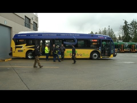 Metro Buys More Battery Powered Electric Buses
