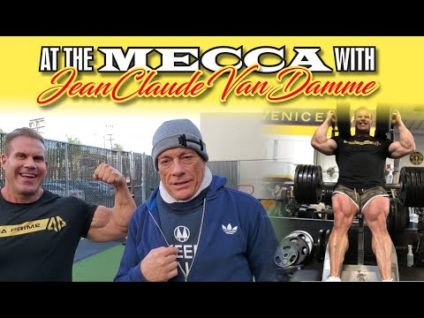 AT THE MECCA WITH JEAN CLAUDE VAN DAMME!