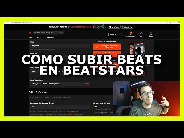 Como subir un BEAT a Beatstars [Español] (2020)