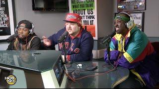 Sav Killz, DJ J-Ronin & Frank Knight on Real Late!