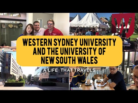 Visiting University Of New South Wales And Western Sydney University