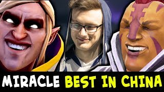 Miracle BEST HEROES Invoker + Anti-Mage — no respect fountain farm China server