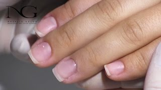 Наращивание ногтей базой/Grafting of nails by the base