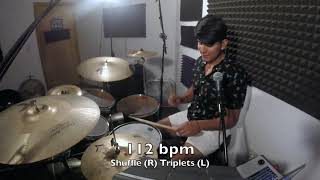 "One Minute Drum Tip #1 - ""Smoother Shuffle Groove"" 