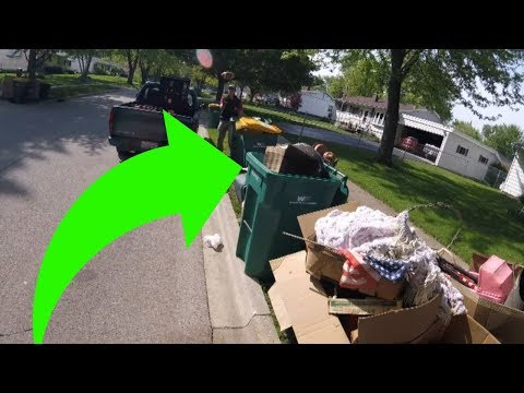 Garbage Day Scrapping - With a Little Help from My Friends