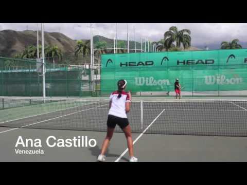 Ana Gabriela Castillo, Tenis Venezuela