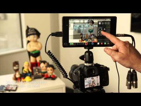 Atomos Shogun 4K HDMI 12G-SDI 7 inch Monitor Recorder