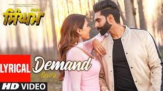 Singham: Demand Lyrical Song | Parmish Verma | Sonam Bajwa | Shipra Goyal | Goldy Desi Crew