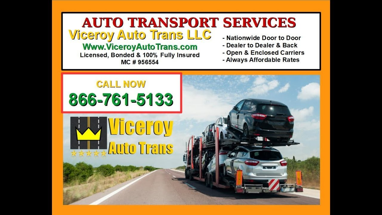 Shipping To Or From Florida Car Truck Van Suv Auto Transport Viceroy Auto Trans