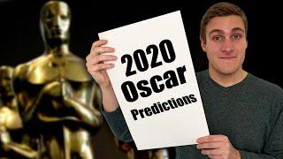 2020 Oscar Predictions