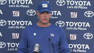 Shurmur: We'll Deal With The Disappointment Quickly | New York Giants | MSG Networks