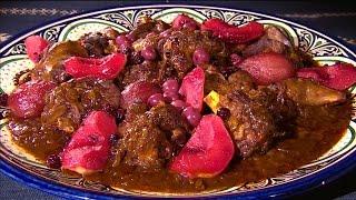 БАРАНЬИ ГОЛЯШКИ с фруктами по-мароккански