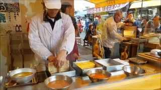 Lunch time @ Tsukiji fish market - Tokyo JAPAN 2015