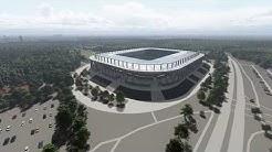 Wildparkstadion Karlsruhe 2020 3D Animationsfilm