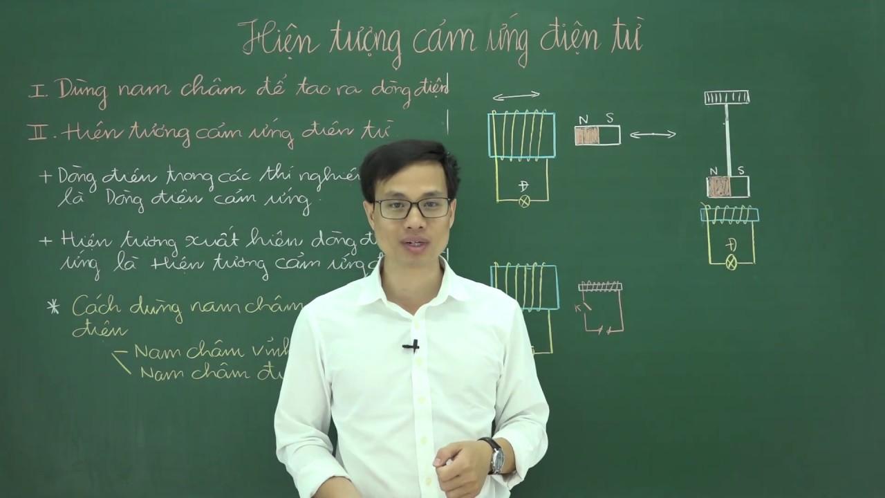 Vật lý lớp 9 – Hiện tượng cảm ứng điện tự – Thầy Phạm Tuấn Anh hocthukhoa.vn