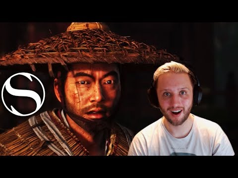 THIS IS SO COOL - Ghost of Tsushima E3 Reaction - Ghost of Tsushima Trailer Reaction