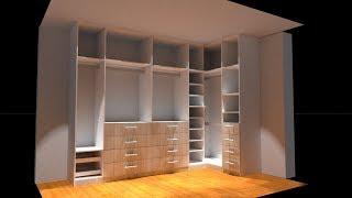 Gambar cover FABRICACION de un closet  EN MELAMINA - MUEBLES A MEDIDA
