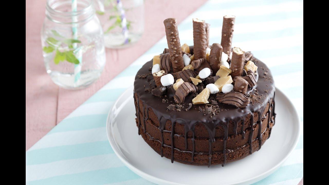 Triple Chocolate Cake Youtube