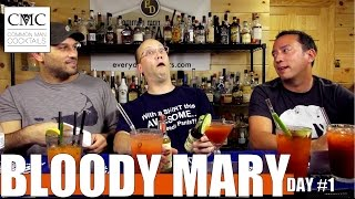 Scrappy's Spicy Bloody Mary Contest: Day 1