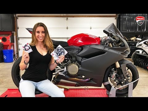 Carbon Panigale with Ducabike Clear Clutch Cover!!!