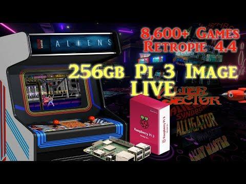 256gb Pi 3 B and B+ Ultimate Image Vman - 8,600+ Games PSX