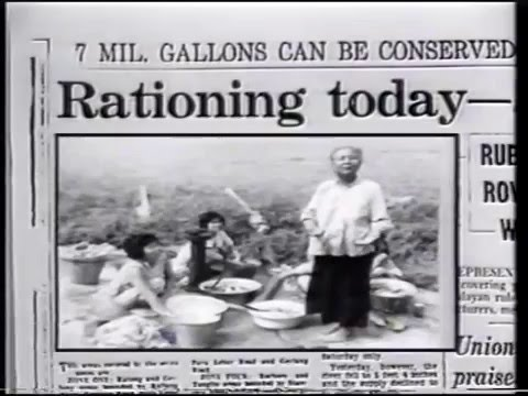 Diary of a Nation (SBC 1988) - 23 April 1963: Water Rationing