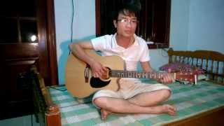 Hà Nội mùa vắng những cơn mưa guitar cover