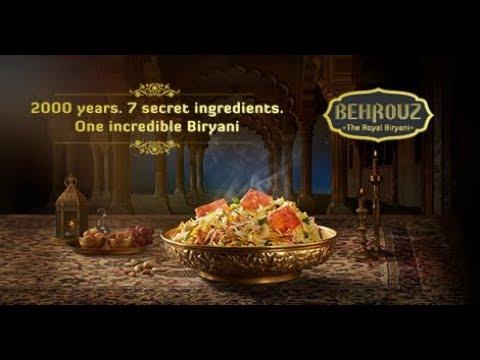 Behrouz Biryani Story 40 Second