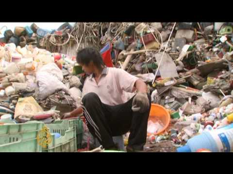 China's growing recycling industry