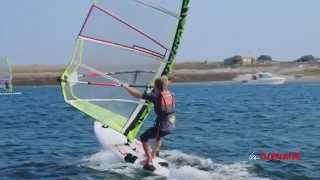 Empannage en windsurf - Mini-tuto Les Glénans
