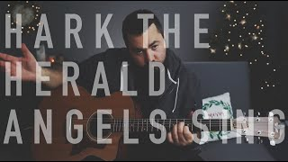 Hark The Herald Angels Sing (Live Christmas Guitar Tutorial)