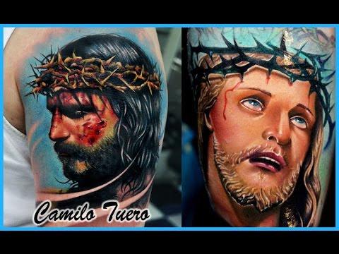 Los Mejores Tatuajes De Jesus En 3d Youtube