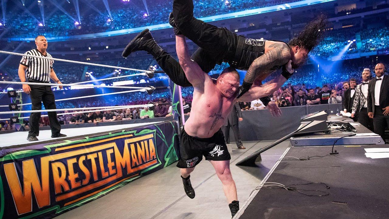 Download Brock Lesnar's WrestleMania history: WWE Playlist
