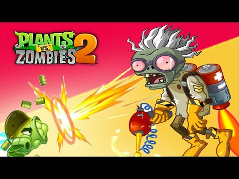 Plants Vs Zombies 2: Castle in the Sky Day 1 - PVZ 2 China