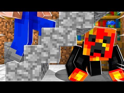 I Secretly Moved into Noob1234's Minecraft House! *he had no idea*