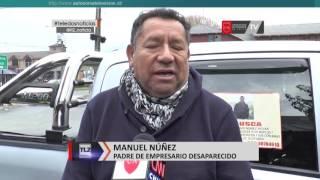 Aún se mantiene el misterio de la desaparición de Manuel Núñez Rojas